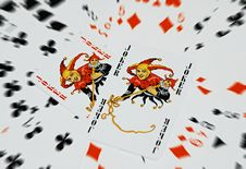 Free Playing Cards Stock Photo - 9259660