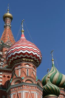 Free Saint Basil Cathedral At Red Square In Moscow Stock Image - 9259831