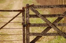 Free Old Gate Royalty Free Stock Photo - 92524655