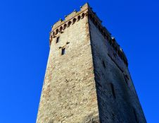 Free Low Angle View Of Tower Against Clear Blue Sky Stock Photography - 92524752