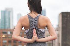 Free Pashchima Namaskarasana Yoga Pose Stock Photography - 92524932