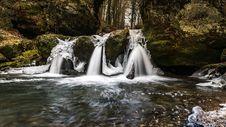 Free Triple Waterfall Stock Photo - 92524980