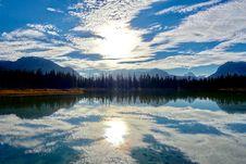 Free Beautiful Lake Reflection  Royalty Free Stock Image - 92525006