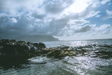 Free Seascape On A Cloudy Day  Stock Photography - 92525012