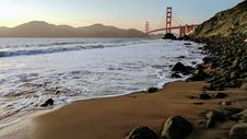 Free Golden Gate Bridge In San Francisco Royalty Free Stock Photography - 92525137