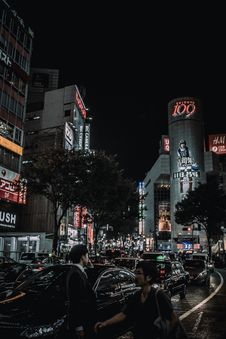 Free 109 Department Store In Tokyo At Night Royalty Free Stock Photos - 92525188