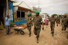 Free AMISOM Force Commander Tours Afgoye Corridor 13 Stock Photo - 92590150