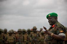 Free AMISOM Force Commander Tours Afgoye Corridor 05 Stock Photography - 92590152