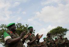 Free AMISOM Force Commander Tours Afgoye Corridor 12 Royalty Free Stock Images - 92590189