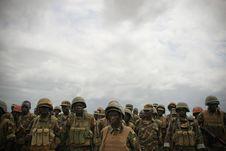 Free AMISOM Force Commander Tours Afgoye Corridor 07 Stock Photography - 92590292