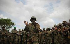 Free AMISOM Force Commander Tours Afgoye Corridor 11 Stock Photos - 92590293