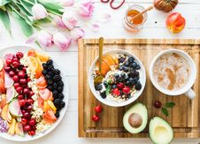 Free Healthy Dessert With Fruit Royalty Free Stock Image - 92590626