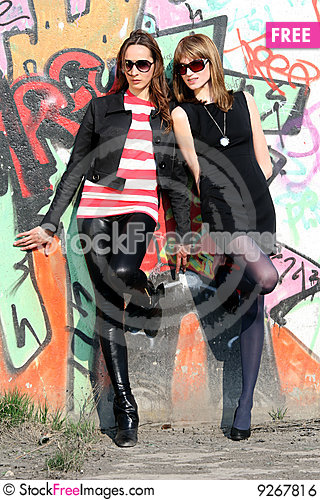 Free Two Friends Royalty Free Stock Image - 9267816