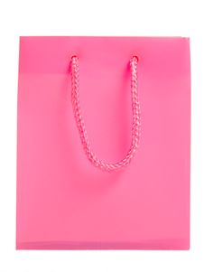 Free Pink Shopping Bag Royalty Free Stock Photography - 9260147