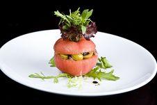 Free French Stuffed Tomato Royalty Free Stock Photos - 9260178