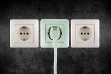 Free Socket Stock Photography - 9260282