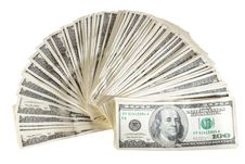 Free American Dollars Royalty Free Stock Photography - 9260357