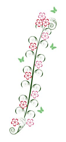 Free Abstract Flowers Royalty Free Stock Photos - 9261338