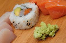 Free Sashimi And Maki Stock Photos - 9261433