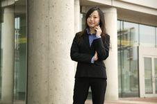 Free Businesswoman On Phone Stock Photos - 9261563