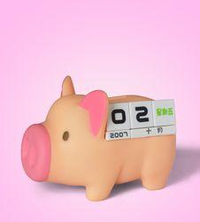 Free Piggy Bank Stock Photo - 9261600
