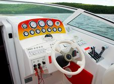 Free At The Helm Stock Image - 9261621