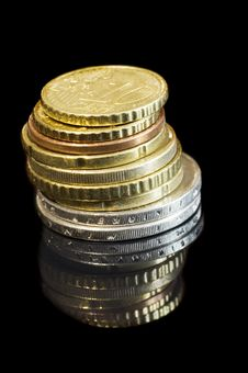 Free Coins Royalty Free Stock Photography - 9261737