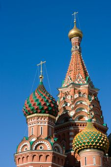 Free Cathedral, Red Square Royalty Free Stock Image - 9262136