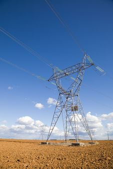 Free Electricity Pylon Royalty Free Stock Photo - 9262745