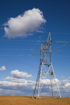 Electricity Pylon Stock Photo