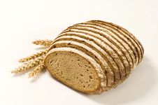 Sliced Loaf Of Bread Stock Photo