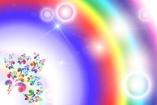 Bright Iridescent Background Royalty Free Stock Images