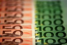 Free Rows Of Cash Stock Image - 9263331