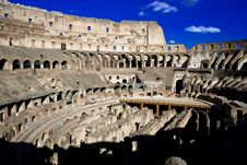 Free Inside Roman Colosseum Stock Photography - 9263572
