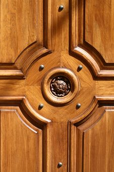 Free The Detail Of The Old Door Royalty Free Stock Images - 9263969