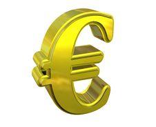 Free Euro Symbol Stock Image - 9265581