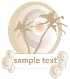 Free Tropical Summer Concept Royalty Free Stock Photo - 9265835
