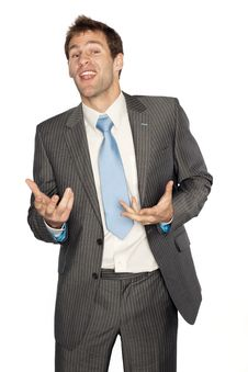 Free Business Man Stock Photography - 9266362