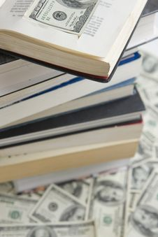 Free Knowledge Is Power, Power Is Money Royalty Free Stock Image - 9266696