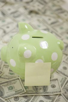 Free Note Your Savings Stock Images - 9266704