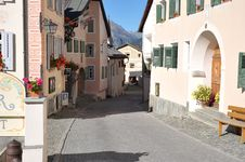 Free Suisse Village Stock Photography - 9267202
