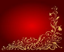 Free Floral Element Royalty Free Stock Image - 9267696