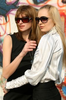 Free Two Friends Royalty Free Stock Photography - 9267787
