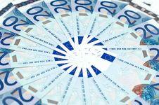 Free Euro Bills (european Currency) Stock Image - 9267911