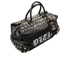 Free Black Leathe Bag Royalty Free Stock Photography - 9268087