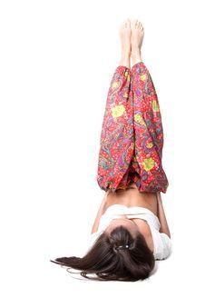 Free Yoga Girl Stock Photos - 9268123