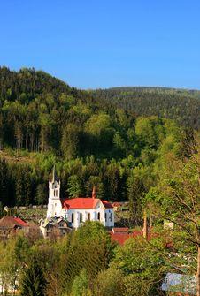 Free Mountain Church Stock Photography - 9268212