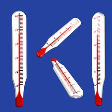 Thermometers Royalty Free Stock Images