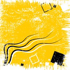 Free Yellow Abstract Background Royalty Free Stock Photos - 9269228