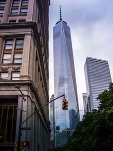 Free 1 World Trade Center, New York City Royalty Free Stock Images - 92652719